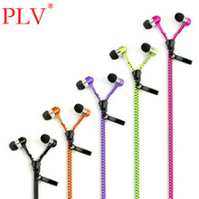 New Microphone Mic Earbuds Premium 3.5mm Tangle-Free Zipper Headphone Headset Mp3 Waterproof Stereo Bass Headphones Earphones