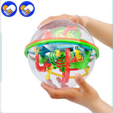 A TOY A DREAM 138 Steps Big Size 3D Perplexus Maze Ball Magic Rolling Marble Puzzle Cube Funny Globe Ball Brain Teaser Game 20cm
