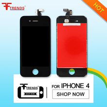 FFtrends 20 pcs/lot 100% Test  Lcd Display for iPhone 4 display Retina + touch screen digitizer Assembly + Free DHL Sale