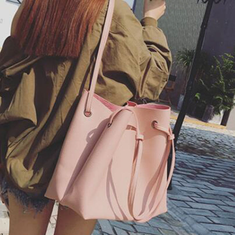 Antbook Solid Fashion Women Shoulder Bag High Quality Women Tote Pu Leahter Women Handbag Designer Bags(China (Mainland))