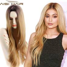 "Synthetic Wigs for Women Sale Long Wavy Ombre Wig Jenner 32"" Long Wavy Synthetic Wig Women Ombre Wigs Hair"