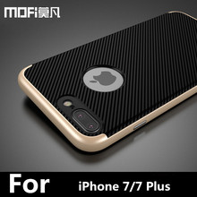 Buy iPhone 7 case iPhone7 plus back cover protection silicone phone capas gold black men cover iPhone 7 plus case cover for $7.69 in AliExpress store