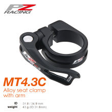 PZ RACING MT4.3C  Alloy Seat Clamp with Arm Seat post Clamp - 31.8mm 34.9mm