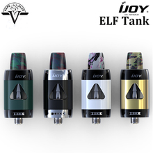 Original IJOY ELF Tank 2ml TPD compliant Top Fill system Atomizer Electronic cigarette Elf tank MTL vaporizer