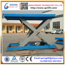 2017 hot Hydraulic Scissor Cargo Lift Platform Design and Produce According To Client Need(China)