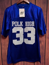 EJ Al Bundy #33 Polk High Football Jersey Married Shirt Bloods Thicker BLUE