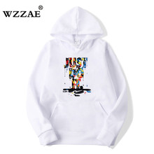 New Fashion Man Long Manga Polerones Hombre Skate Camisola Do Hoodie Rosa Just do It Hoodies Das Mulheres Dos Homens do Hip Hop Engraçado 3D Moletom Com Capuz(China)