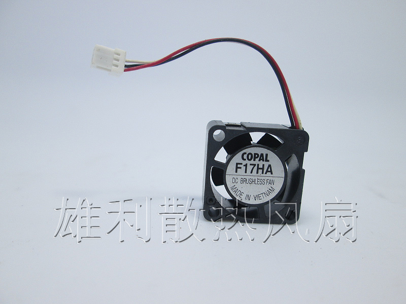 Free Delivery.F17HA F05MC-03 The worlds smallest fan 1.7CM 1708 5V<br>