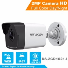 In Stock 2017 Hikvision New 1080P Security IP Camera DS-2CD1021-I 2MP CCTV camera indoor and outdoor use