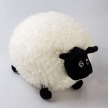 33CM Cartoon Shirley Sheep Lamb Shape Stuffed Plush Doll Baby Toys Birthday Gifts For Kid Children