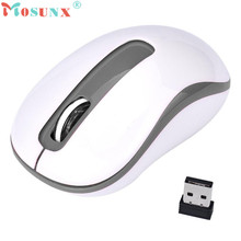 Adroit Wireless Mouse 2.4G 1600DPI Optical Mini Mice 1PC Portable For Laptop PC MAR26 drop shipping
