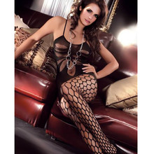 Buy Ladies Open Crotch Tights Sexy Pantyhose Women Crotchless Collants Femme Smoothly Gloss Medias High Elasticity Strumpfhose