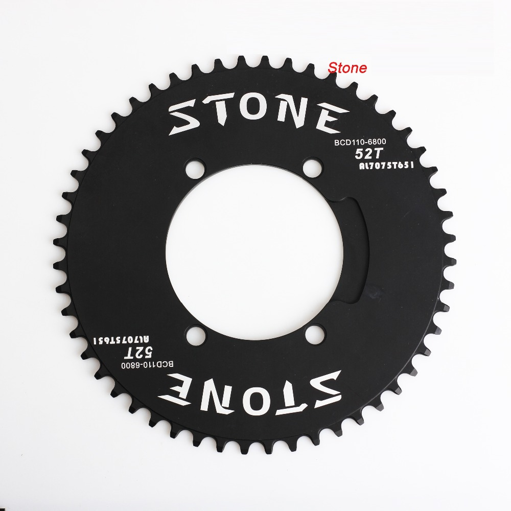 BCD130 Oval Chainring Aero style 1x system Narrow Wide 50T 52T 54T 56T 58T 60T