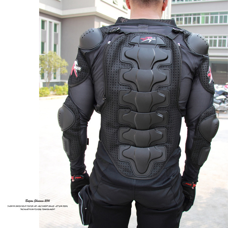 Motorcycles Armor Protection Motorcycle Protector Jacket Moto Spine Chest Protection Gear Motocross Protector Motorcycle Cloths<br>