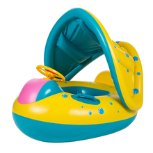 Portable Summer Baby Kids Swimming Ring Safety Inflatable Swan Swim Float Pool Ring Children Swim Seat Float Boat Water Sports