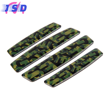 Car Cool Decal Door Side Edge Protection Case with Camo Pattern for Citroen ds Daihatsu Dodge Fiat ford Honda Hyundai ISUZU BYD(China)