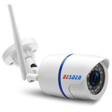 BESDER Yoosee Wifi ONVIF IP Camera 1080P 960P 720P Wireless Wired P2P Alarm CCTV Bullet Outdoor Camera With SD Card Slot Max 64G