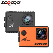 "SOOCOO S100 S100PRO 4K UHD Wifi Sport 2"" Screen Gyro GPS Action Camera ( Optional: Voice Control Tonch screen , Remote control)(China)"