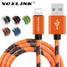 VOXLINK USB Cable 5V2A Fast Charger Adapter Lightning to USB Cable For iphone 7 6s plus 5 5s ipad mini Mobile Phone Cables