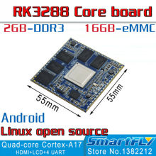 RK3288 Core Board Quad Core ARM Cortex-A17 Development Board 2GB DDR3 16G eMMC minipc X3288 Android linux development(China)