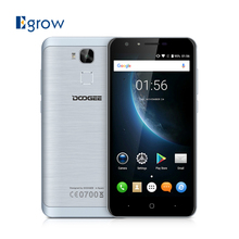 Original Doogee Y6C MTK6737 Quad Core Android 6.0 Mobile Phone 5.5 Inch Cell Phones 2G RAM 16G ROM 8.0MP Front Camera Smartphone