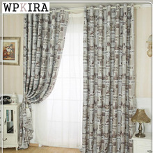 Modern thickening cloth newspaper curtain yarn bedroom curtain full sun-shading shade cloth window screening product 227&30