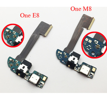 Original For HTC One M8 831c/One E8 USB Charging Port Dock Connector With Microphone Flex Cable Replacement