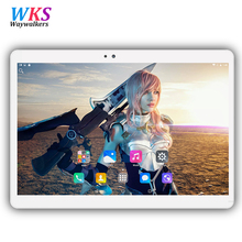 2017 newest 10.1 inch tablet pc Android 6.0 RAM 4GB ROM 32/64GB Dual SIM Bluetooth GPS 1920*1200 IPS tablets pcs free shipping(China)