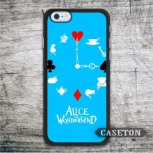 Clock Alice In Wonderland font b Case b font For font b iPhone b font 7