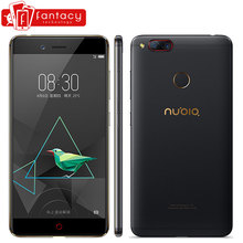 "Original Nubia Z17 Mini 4GB RAM 64GB Mobile Phone Snapdragon 652 Octa Core Fingerprint ID 16.0MP FDD LTE 4G 5.2 "" FHD 1080P(China)"