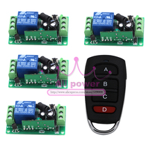 New DC 12V 10A Wireless Remote Switch / Remote Control Switches / Electrical Switch 315Mhz/433Mhz Controller Built-in Battery(China)