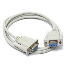Serial RS232 9 Pin Female To Female DB9 9-Pin PC Converter Extension Cable support  1.5m 3m 5m 10m