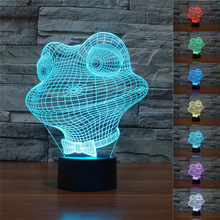 Cute Carton Frog Led Night Lamp Animal frog Lights Bedside Table Lamp Baby Bedroom Nursery Decor Lighting Children Kids Gift