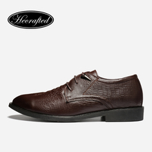 male wedding shoes Top quality Genuine leather Men dress shoes men business oxfords #JRSW(China)