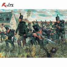 RealTS Italeri model 6083 1/72 95 Rgt. Green Jackets plastic model(China)