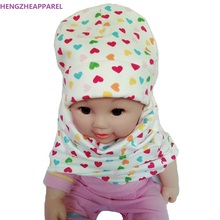Novelty Children Hat Spring Autumn Baby Hat Baby Cap Toddler Fashion Cotton Beanies Skullies Boys Girls Kids Winter Hat Scarf
