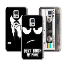 "Dark For Mens Style Perfect Design Case For Samsung Galaxy S5 mini G800 Case Cover For funda Samsung S5 Mini capa 4.5""+Gift"