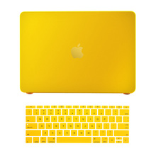 "Hard Matte Case Cover Snap-on Shell Protective Skin Ultra Slim Light Weight for MacBook 12-inch 12"" with Keyboard Cover(China)"