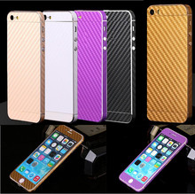 7 Solid Colors Textured Skin Phone Sticker Screen Protector For Apple iPhone 5 5s se/6 6s /6 6s plus Capa Coque Shell ECA001