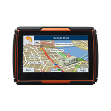 Moto GPS Navigator High quality Motorcycle gps Navigation 4.3 Inch 8GB  Waterproof IPX7 Bluetooth  with FM Free Maps