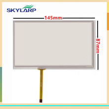 6 inch touch screen for 145mm*88mm touch panel 145*88mm Car GPS digitizer glass