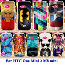AKABEILA Durable Cell Phone Cases For HTC One Mini 2 Covers M8 mini m8mini Shell Hood Skin Hard Plastic Bags Anti-Scratch Cover(China)