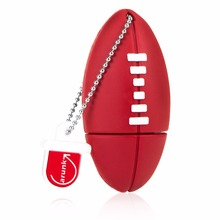 Amthin Pen drive American Football Sports Rugby U Disk 4G 8G 16G 32G USB Flash Drive Memory Drive Stick Pendrive Creative gift(China)