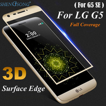 SHENGSONG 3D Curved Full Cover Tempered Glass For LG G5 / G5 SE Screen Protector Protective For H850 VS987 H820 LS992 H830 US992