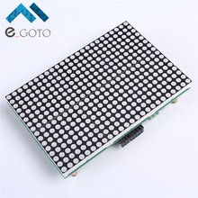 LED Lattice Module 16x24 Dot Matrix LED Module Subtitle Text Display HT1632C 3.3V-5V