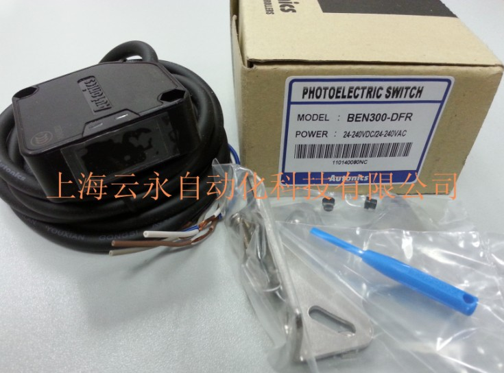 new original BEN300-DFR  Autonics photoelectric sensors <br>