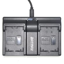 NP-FH100 NP-FV100 FV100 NP FV100 Dual USB Charger for Sony DCR-DVD103 XR100 HDR DCR series HDR-XR550/E HDR-XR350/E HDR-XR150/E(China)