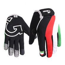 2016 Cycling Gloves Full Finger Windproof Touch Screen Mountain Road Bicycle Bike Air Guantes Ciclismo Men Women - Ruizhan Outdoor Store store