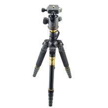 Buy ZOMEI lightweight Portable Q666 Professional Travel Camera Tripod Ball Head Monopod Camera Stand Canon Nikon Sony DSLR for $78.30 in AliExpress store