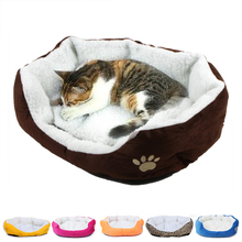50*40cm Comfortable and soft Cat Bed Mini House for Cat Pet Dog Sofa Bed Good Products for Puppy Cat Pet Dog Supplies(China)